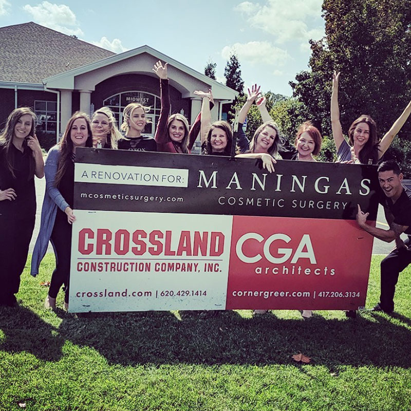 Maningas Cosmetic Surgery is excited to announce a major office renovation is underway!